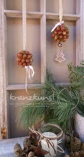 Natur Wald Kugelig 2er Set Weihnachts Winterdeko Fenster Lieblingsplatz Landhaus Country Shabby