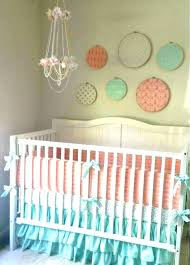 mint green crib bedding mint crib bedding pink and gold baby bedding mint and pink crib