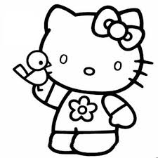 Hello Kitty Coloring Pages 2 Coloring