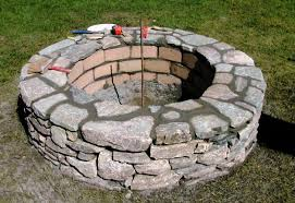 Fire Pit Rocks River Rock Design Ideas