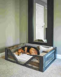 factory bunk beds code fresh diy pallet dog bed such a great project