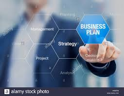 Consultant Presenting Business Plan Strategy For Companies And Stock