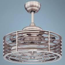 savoy house sea side satin nickel ceiling fan nautical industrial cage lamps plus blanket cover high
