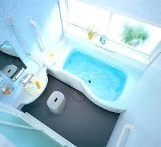 blue bathtub royal blue bathroom decor dark grey painted bathroom wall floating cabinet sliding door white