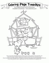 Barn Coloring Pictures 1 Free Coloring Page Site Coloring Home