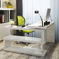 office computer desk. More Views. White High Gloss Siena Luxury Work Office Computer Desk M