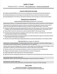 Hr Generalist Resume Professional User Manual Ebooks
