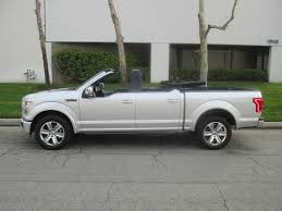 Convertible Ford F-150 Is Real And It's Pretty Special - autoevolution