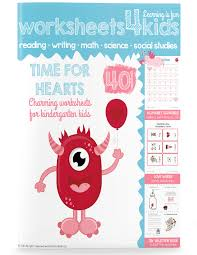 Time for Hearts - Valentine's Day Worksheets - Free Worksheets for ...