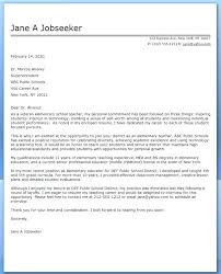 Letters For A Teacher School Teacher Cover Letter Kliqplan Com