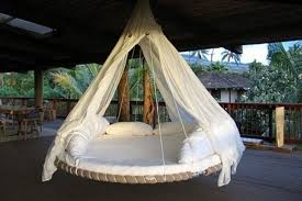 trampoline diy outdoor daybed