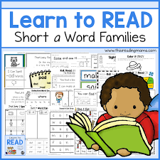 Activities Word Learn To Read Short A Word Families Unit 1 This Reading Mama