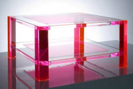 magic design of alexandra von furstenbergs acrylic furniture alexandra furniture