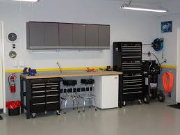 garage workspace lighting ideas