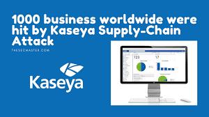 Kaseya Supply-Chain Attack ...