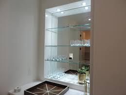 Custom Glass Shelves Ideas