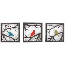 birds on branch square wall sculpture 3 piece target liked on polyvore featuring home home decor branch home decor and bird home decor on target wall art 3 piece with birds on branch square wall sculpture 3 piece target liked on