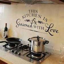 Diy Kitchen Wall Decor Kitchen Room Diy Kitchen Wall Decor Behind Stove White Cabinet