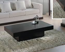 phenomenal rectangular coffee table with storage contemporary cocktail furniture chicago glass top shelf rounded edge stool
