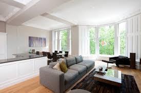 Living Room And Kitchen Designs Granite Tile Kitchen