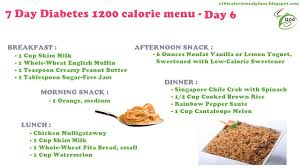 7 day diabetic meal plan trainers share 13 tips to 1200 calorie meal plan for diabetics