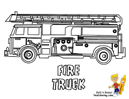 Small Picture Beautiful Fire Truck Coloring Page 38 For Coloring Books with Fire