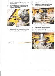 rzt transmission belt replacement help rzt transmission belt replacement help pto bracket jpg