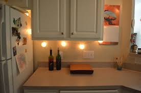 Apartment Lighting Project: Battery Operated LED Under Cabinet Light