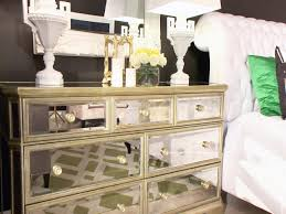 mirrored furniture decor. Marvelous Mirrored Furniture Nightstand For Your Home Concept: Nightstand: Completely Gold Decor I