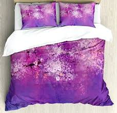 japanese cherry blossom duvet cover comforter set blue quilt covers for