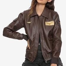 captain marvel brie larson flight er jacket