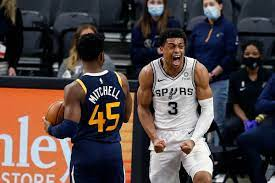 Spurs blowout loss to the Jazz ...