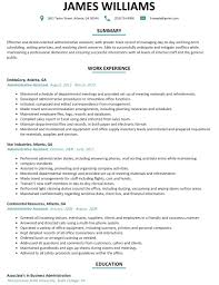 Executive Administrative Assistant Resume Template Executive Administrative Assistant Resume Sample Monster 90