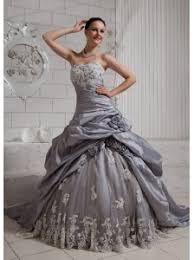 silver wedding dresses wedding dress with silver beading details