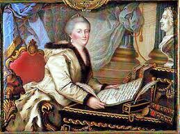 Наказ Екатерины ii Википедия Екатерина Великая с текстом Наказа в руках