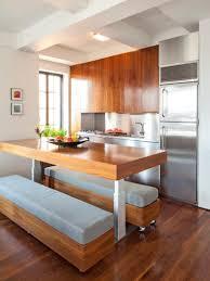 eat in kitchen furniture. Kitchen : Black Marble Countertop Feats Glass Door Sleek  Along Gray Tiles Kitchen Eat In Furniture