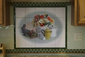 Tile Murals For Kitchen Backsplashes Hawaii Kitchen Design Tropical Tile Murals