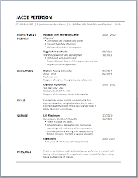 Calibri font for resume. Here I just changed the formatting of Jacob's  contact information and added another line at the