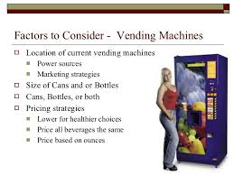 Vending Machine Marketing Strategy