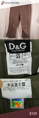 Dolce Gabbana Size Chart Dolce And Gabbana Capris Pants Pre Owned But Gently Used
