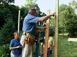Small Picture How to Build a Wood Arbor for Garden or Yard YouTube