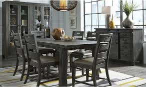 abington charcoal dining furniture collection