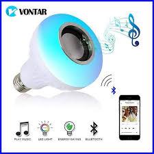 Wireless Bluetooth Speaker12w Rgb Bulb Led Lamp 110v 220v