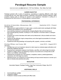 Paralegal Resume Amazing Paralegal Resume Sample Writing Tips Resume Companion