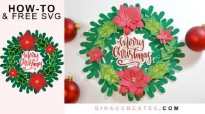 Christmas photo effects & frames for your holiday wishes! Free Craft Files Gina C Creates