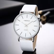 simple style white leather watches women fashion watch minimalist las casual wrist watch female quartz clock reloj mujer 2019