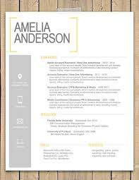 Impressive Resume 8 I Like The Subtle Use Of Gray In This It S A