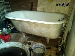 how to clean an old stained bathtub photo 1 of 9 refinishing the porcelain tub sinks how to clean an old stained bathtub