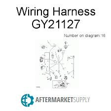 gy21127 wiring harness fits john deere aftermarket supply John Deere Gator Wiring Harness John Deere Gy21127 Wiring Harness #12