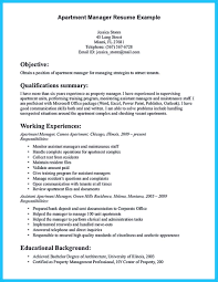 sample resume for apartment manager assistant property manager resume best ideas of sample also summary
